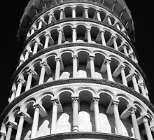 Leaning Tower of Pisa by Margaret  Shark
