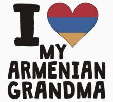 I Heart My Armenian Grandma Kids Tee