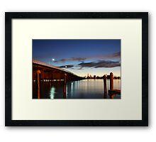 Forster Bridge Framed Print