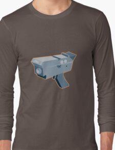mobile speed camera radar gun retro Long Sleeve T-Shirt