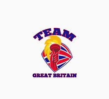 Team Great Britain hand hold flaming torch retro Unisex T-Shirt