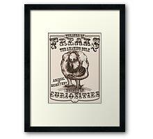 Theatre of Freaks - The Amazing Bulk Framed Print