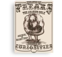 Theatre of Freaks - The Amazing Bulk Canvas Print