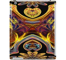 An Abstract of Spooky at Dracula's Castle iPad Case/Skin