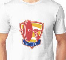 Weightlifting hand lift weights shield belt Unisex T-Shirt
