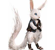Adventure Bunny by springly
