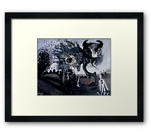 australian gambling demon Framed Print