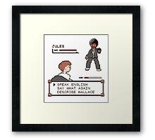 Pulp Fiction fight! Framed Print
