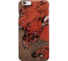 Nuclear Dog Rats iPhone Case/Skin