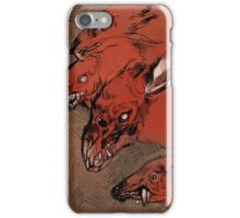 Nuclear Dog Rats iPhone Case/Skin