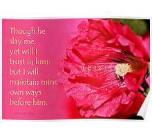 I Will Trust in Him Poster
