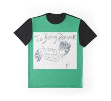 The Boring Peacock Graphic T-Shirt