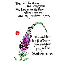 The Priestly Blessing (full size) Photographic Print