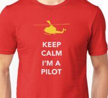 Keep calm, I'm a pilot Unisex T-Shirt