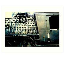 The Locomotive Engine Art Print