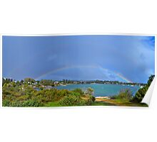 Double Rainbow over Coffin Bay - best looked at enlarged Poster