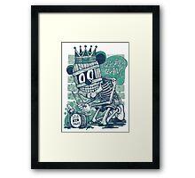 MUM DRUMMER T-SHIRT Framed Print
