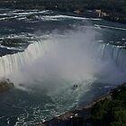 Niagara Falls Canada - Horseshoe Falls from above by logonfire