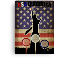 New USA T-shirt Canvas Print