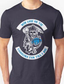 Win Lose Or Tie Carolina Fan Till I Die. Unisex T-Shirt
