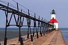 St. Joseph, Michigan Lighthouse by Kenneth Keifer
