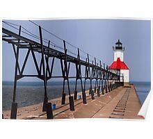 St. Joseph, Michigan Lighthouse Poster