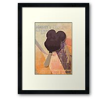 Mickey's Premium Ice Cream  Bar Framed Print