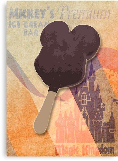 Mickey's Premium Ice Cream  Bar by Bantha