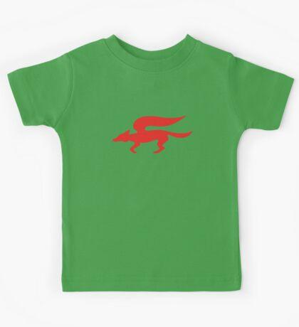 Star Fox Team Retro Logo Kids Tee