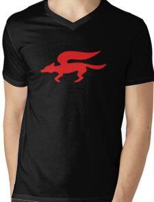 Star Fox Team Retro Logo Mens V-Neck T-Shirt