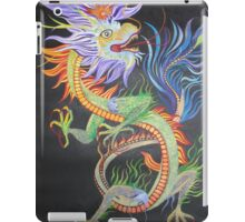 Bright and Vivid Chinese Fire Dragon iPad Case/Skin