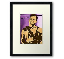 Yippe-Kah-Yea Framed Print