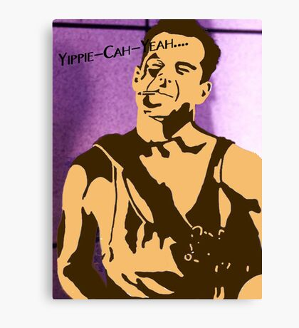 Yippe-Kah-Yea Canvas Print