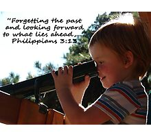 """Philippians 3:13""  by Carter L. Shepard Photographic Print"