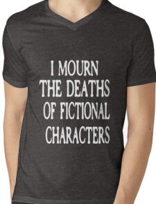 Fictional Characters Girls Mens V-Neck T-Shirt