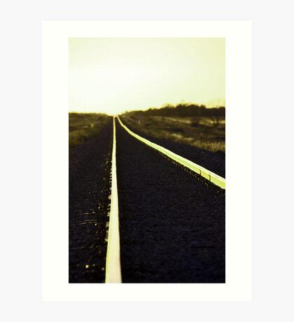 Going west Art Print
