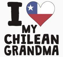 I Heart My Chilean Grandma One Piece - Short Sleeve