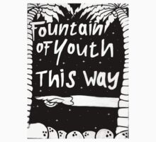 Fountain of youth Kids Tee