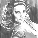 Ava Gardner by Tony Heath