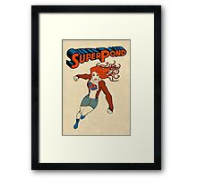 SuperPond Framed Print