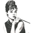 Audrey Hepburn - Breakfast at Tiffany's by tonito21