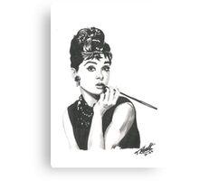 Audrey Hepburn - Breakfast at Tiffany's Canvas Print
