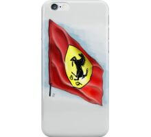 Ferrari Flag iPhone Case iPhone Case/Skin