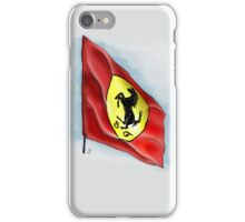 Ferrari Flag iPhone Case iPhone Case/Skin