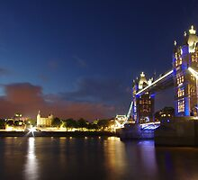 Tower Bridge, August 2012 by berndt2