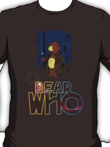 Mad Bear with a Box T-Shirt