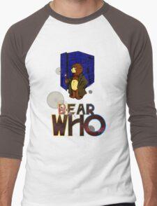 Mad Bear with a Box Men's Baseball ¾ T-Shirt