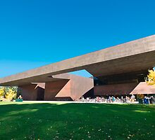De Young Museum Forecourt, San Francisco by hinting