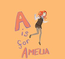 A is for Amelia by trollfish