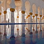 Sheikh Zayed Mosque in Abu Dhabi by reisefoto